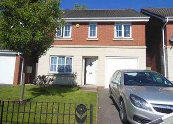 Thumbnail 4 bedroom detached house for sale in Wrenbury Drive, Bilston, West Midlands