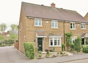 Thumbnail 3 bed semi-detached house for sale in Henry Gepp Close, Adderbury, Banbury