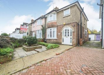 Thumbnail 3 bed semi-detached house for sale in Westmorland Avenue, Luton, Bedfordshire