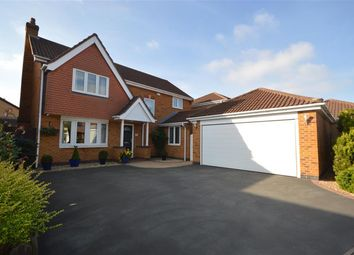 Thumbnail 4 bed detached house for sale in Elliot Close, Whetstone, Leicester