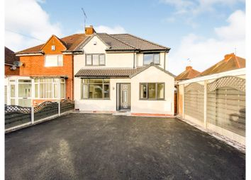 Amberley Road, Solihull B92. 4 bed semi-detached house for sale