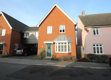 Thumbnail 4 bedroom link-detached house to rent in Turing Court, Kesgrave, Ipswich