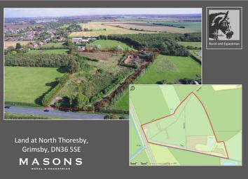 Thumbnail Land for sale in Main Road, North Thoresby, Grimsby