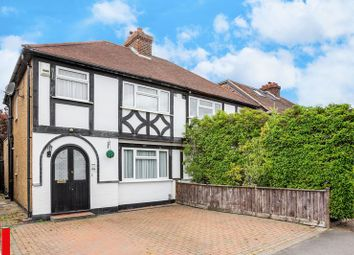 Thumbnail 3 bed semi-detached house for sale in Pams Way, Ewell, Epsom