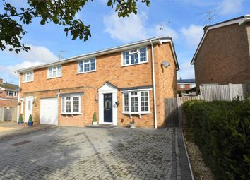 Thumbnail 3 bed semi-detached house for sale in Brecon Close, Farnborough, Hampshire