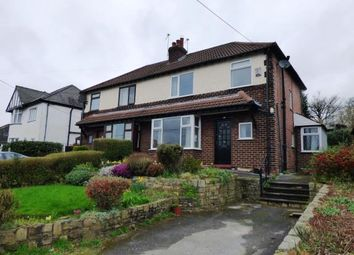 Thumbnail 3 bed semi-detached house for sale in Lower Hague, New Mills, High Peak
