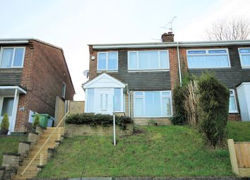Thumbnail 3 bed semi-detached house for sale in Lynnes Close, Blidworth, Mansfield