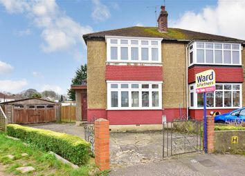 Thumbnail 2 bed semi-detached house for sale in Blaker Avenue, Rochester, Kent
