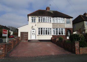 Thumbnail 3 bed semi-detached house for sale in Lynton Avenue, Claregate, Wolverhampton