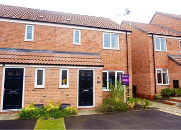 Thumbnail 3 bed semi-detached house for sale in Lewis Crescent, Nottingham