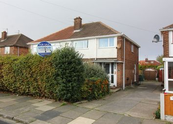 Thumbnail 3 bed semi-detached house for sale in Hawthorne Road, Thornton-Cleveleys