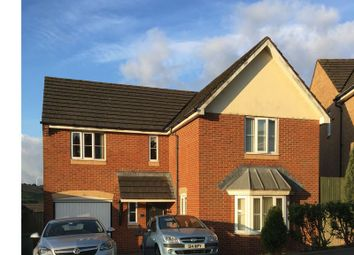 Thumbnail 4 bed detached house for sale in Cedar Wood Drive, Tonyrefail
