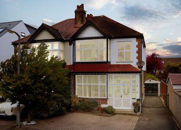 Wellington Avenue, Worcester Park KT4. 3 bed semi-detached house for sale