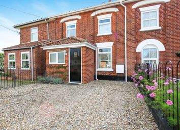 Thumbnail 3 bed terraced house for sale in Attleborough, Norwich, Norfolk