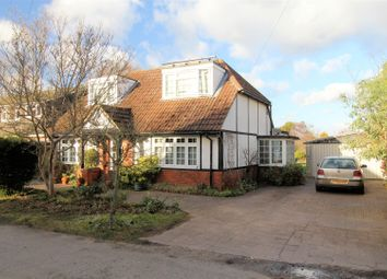 Thumbnail 5 bed detached bungalow for sale in Manor Road, Ripley, Woking