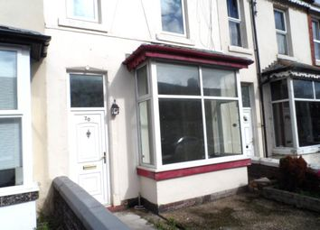 Thumbnail 3 bed terraced house to rent in Victory Road, Blackpool