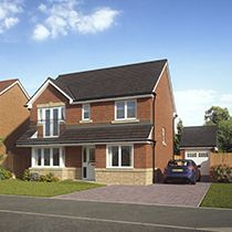 Thumbnail 4 bedroom detached house for sale in Cherry Hill, Margaret Vale Drive, Larkhall, South Lanarkshire