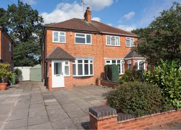 Thumbnail 3 bedroom semi-detached house for sale in Chamberlain Crescent, Solihull