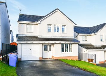 Thumbnail 4 bed detached house for sale in Station Brae Gardens, Dreghorn, Irvine