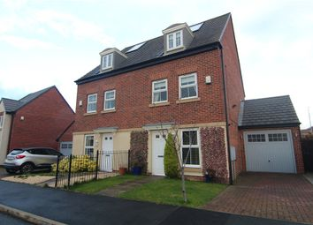 Thumbnail 3 bed semi-detached house for sale in Prospect Place, Coxhoe, Durham