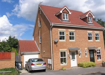Thumbnail 3 bed semi-detached house to rent in Topliff Road, Chilwell, Nottingham