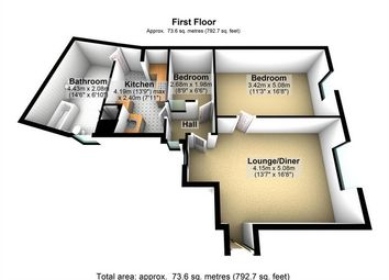 Thumbnail 2 bed flat to rent in Market Place, Wirksworth, Matlock, Derbyshire