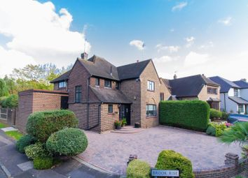Thumbnail 3 bed detached house for sale in Brook Way, Chigwell