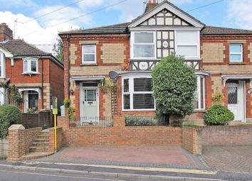 Thumbnail 3 bed semi-detached house for sale in Charlton Road, Andover