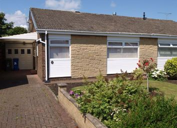 Thumbnail 2 bed semi-detached bungalow for sale in Carlcroft Place, Cramlington