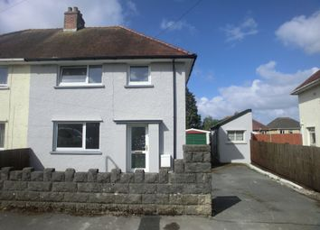 Thumbnail 3 bed semi-detached house for sale in Beech Crescent, Gorseinion, Swansea.