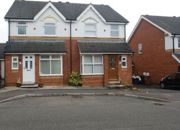 Thumbnail 3 bed semi-detached house to rent in Leyton Way, Andover