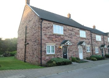 Thumbnail 3 bed end terrace house for sale in Sunrise Drive, Moor Road, Filey, North Yorkshire