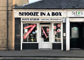 Thumbnail Retail premises for sale in Nelson Street, Largs