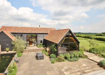 Thumbnail 4 bedroom barn conversion for sale in Creeting St Peter, Stowmarket, Suffolk