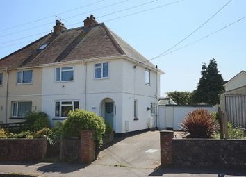 Thumbnail 3 bed semi-detached house for sale in Littleham Road, Exmouth