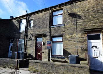 Thumbnail 2 bedroom terraced house for sale in Alma Street, Queensbury, Bradford