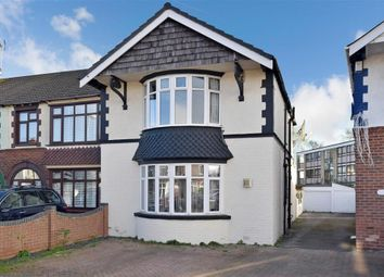 Thumbnail 3 bedroom end terrace house for sale in Chatsworth Avenue, Portsmouth, Hampshire