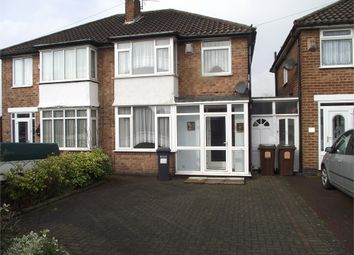 Thumbnail 3 bed semi-detached house for sale in Selworthy Road, Castle Bromwich, Birmingham