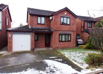 Thumbnail 4 bed detached house for sale in Werneth Hollow, Woodley, Stockport, Cheshire