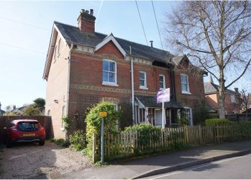 Thumbnail 4 bed semi-detached house for sale in Wellands Road, Lyndhurst