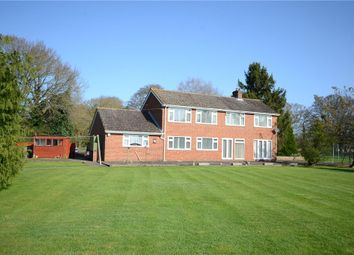 Thumbnail 4 bed detached house for sale in Philpot Lane, Chobham, Woking