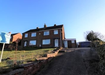 Thumbnail 3 bed semi-detached house for sale in Oak Avenue, Blidworth, Mansfield
