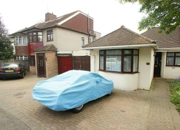 Thumbnail 3 bed semi-detached bungalow for sale in Holly Drive, London