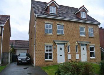 Thumbnail 3 bed town house for sale in Brampton Drive, Bamber Bridge, Preston, Lancashire