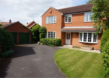Thumbnail 4 bed detached house for sale in Vicarage Close, Newark