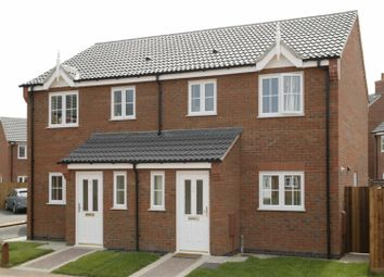 Thumbnail 3 bedroom semi-detached house for sale in London Road, Markfield