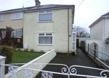 Thumbnail 2 bed semi-detached house for sale in Gwyrddgoed Road, Pontardawe
