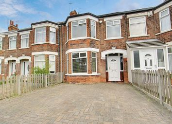 Thumbnail 3 bed terraced house for sale in Patterdale Road, Hull