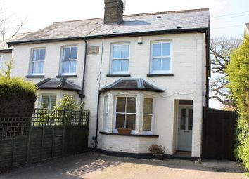 Thumbnail 4 bed semi-detached house for sale in Northcroft Road, Englefield Green, Egham