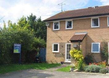 Thumbnail 2 bedroom end terrace house to rent in Frieth Close, Earley, Reading